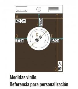 VINILO LAVADORA CEREZAS