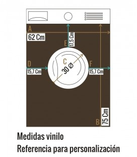 VINILO LAVADORA GRANADA