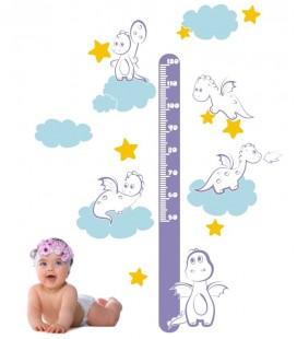 MEDIDOR INFANTIL DINOSAURIOS BEBÉS