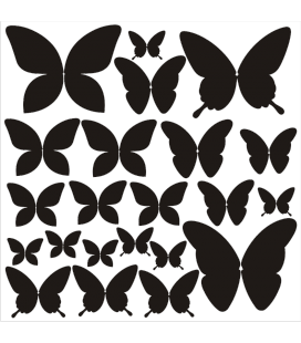 VINILO DECORATIVO MARIPOSAS PACK