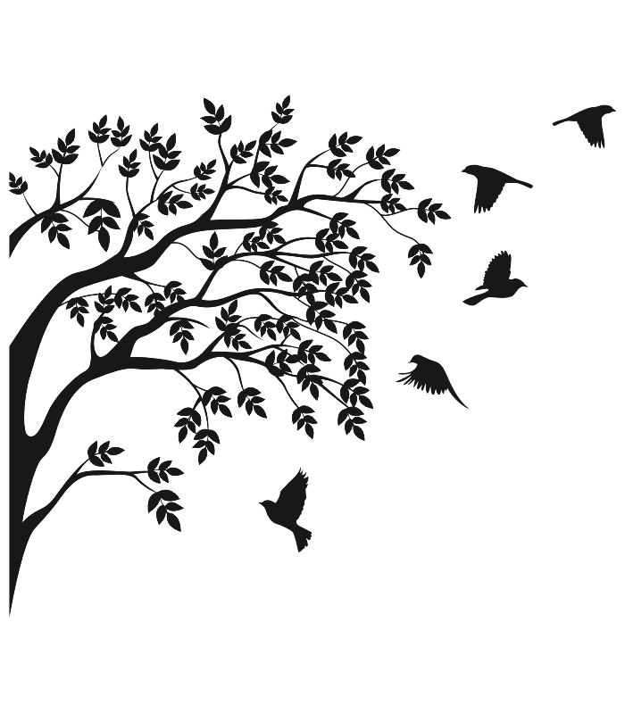 vinilo decorativo arbol libertad