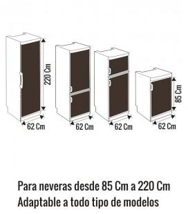 VINILO PARA NEVERA FRESAS CON LECHE