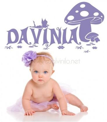 VINILO INFANTIL NOMBRE BOSQUE