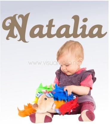 VINILO INFANTIL NOMBRE DULCE