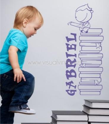 VINILO INFANTIL NOMBRE LECTURA