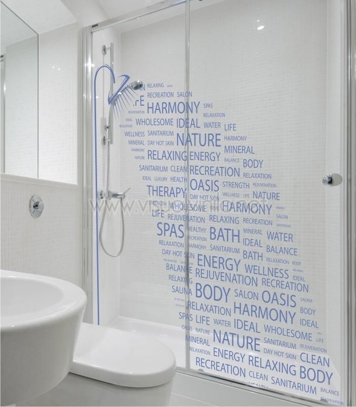 Vinilo decorativo para ba o ducha - Vinilos decorativos bano ...