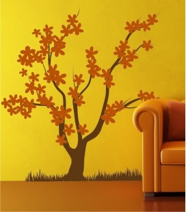 OUTLET VINILO DECORATIVO ARBOL