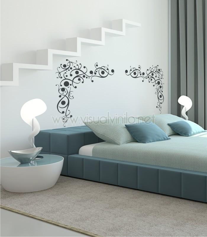 Vinilo decorativo cabecero cama insomnio - Vinilos cabeceros cama ...