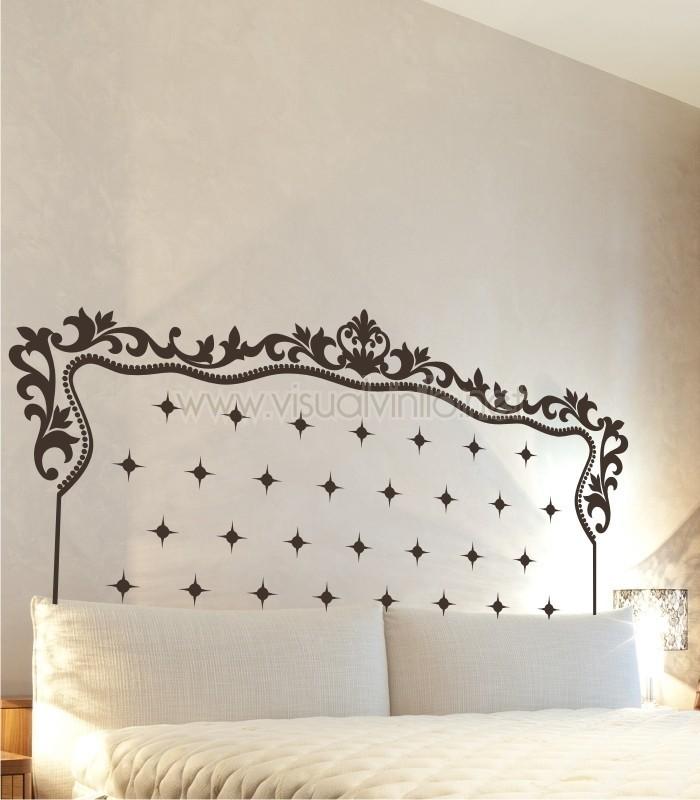 Vinilo decorativo cabecero cama chester - Cojines para cabeceros de cama ...