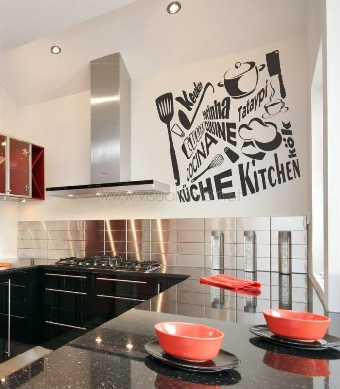 Vinilos Cocinas, Pegatinas cocina, adhesivos para cocina - VisualVinilo