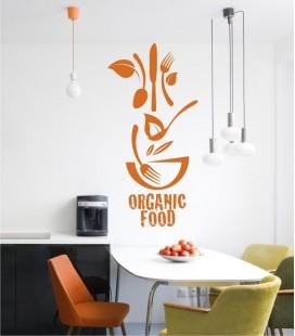 VINILO DECORATIVO COCINA ORGANIC FOOD