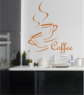 VINILO DECORATIVO COCINA COFFEE