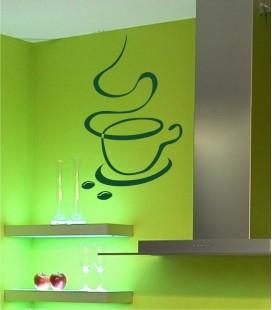 VINILO DECORATIVO COCINA CAFÉ PARIS