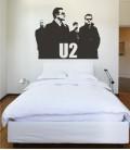VINILO DECORATIVO PERSONAJES U2