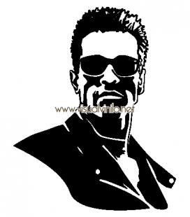 VINILO DECORATIVO PERSONAJES Arnold Schwarzenegger