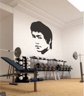 VINILO DECORATIVO PERSONAJES BRUCE LEE