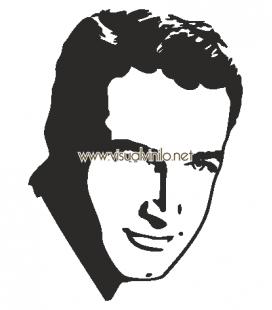 VINILO DECORATIVO PERSONAJES PAUL NEWMAN